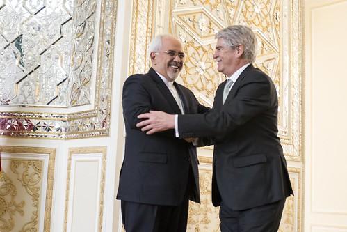 Viaje de Alfonso Dastis a Irán