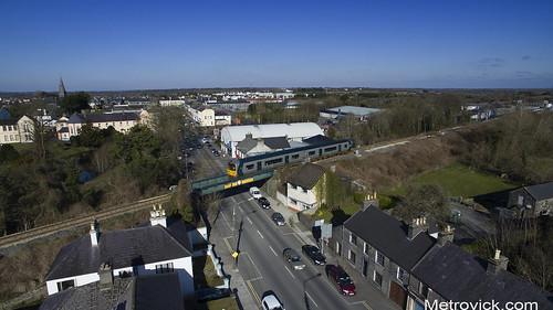2800 class railcar on 1030 Galway-Ennis at Gort 26-Feb-18