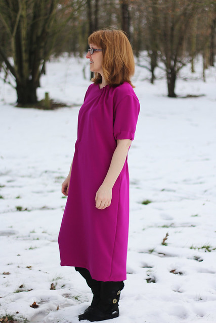 The Maker's Atelier The Asymmetric Gather Dress