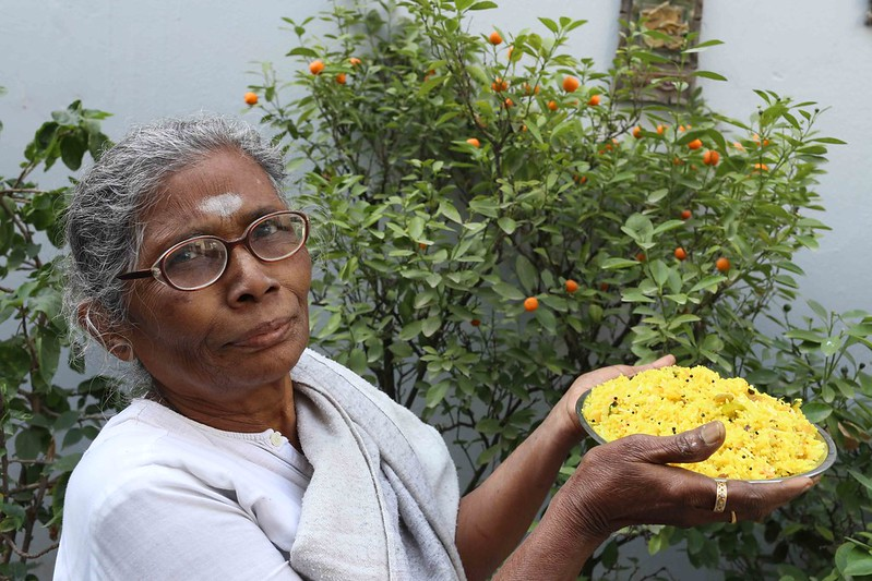 Julia Child in Delhi – Longtime Family Cook Amma Makes Her Narangi Rice, South Delhi