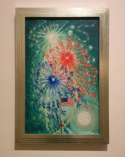 """Fourth of July, Number One"", 1927  #toronto #artgalleryofontario #florinestettheimer #stettheimerago #fourthofjuly"