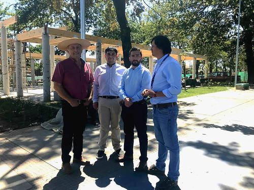 PARRAL; Serviu Maule constató un 90% de avance en trabajos de Alameda Las Delicias