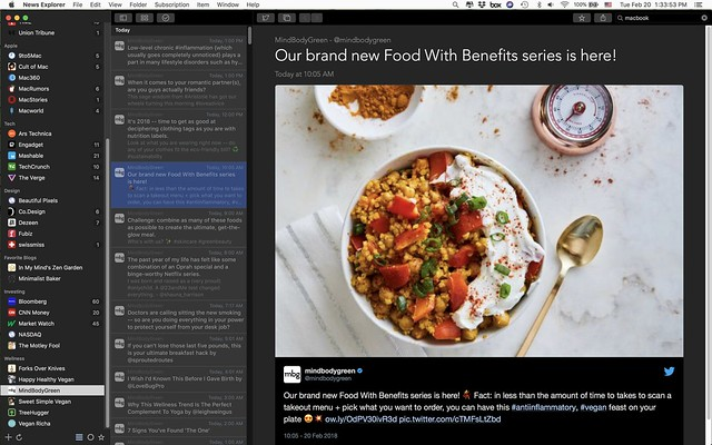 News Explorer for MacOS