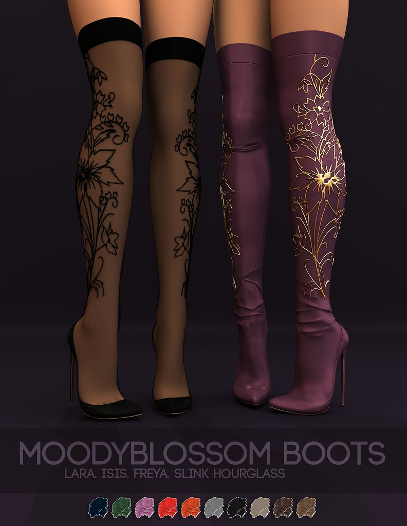 Pure Poison – MoodyBlossom Boots