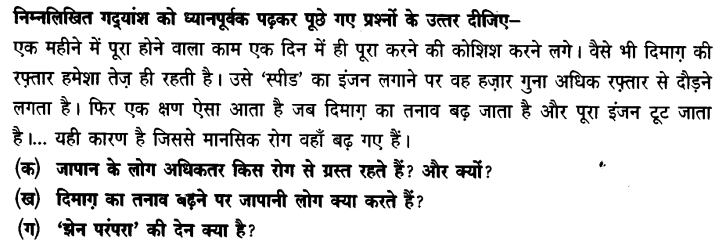 Chapter Wise Important Questions CBSE Class 10 Hindi B - पतझर में टूटी पत्तियाँ 25