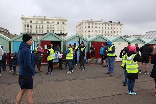 volunteers gathering