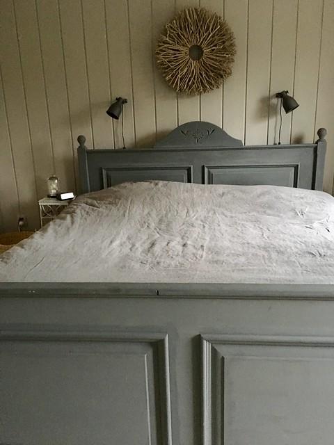 Slaapkamer landelijke sobere stijl
