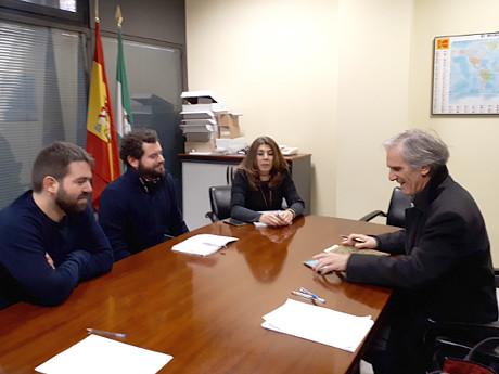 Reunión Ayuntamiento y FAECTA sobre cooperativismo