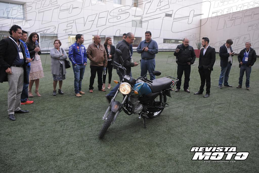 Presentación Yamaha CRUX REV 2018