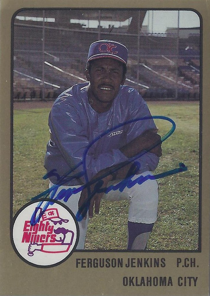 a8913c1f436 ... 1988 ProCards - Ferguson Jenkins  50 (Pitching Coach) (Baseball Hall of  Fame