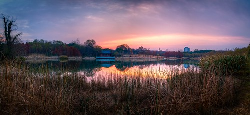 panorama sunrise nature outdoor wild lake reflection hdr sky cloud winter autumn fall dawn twilight sony rx100m2 landscape