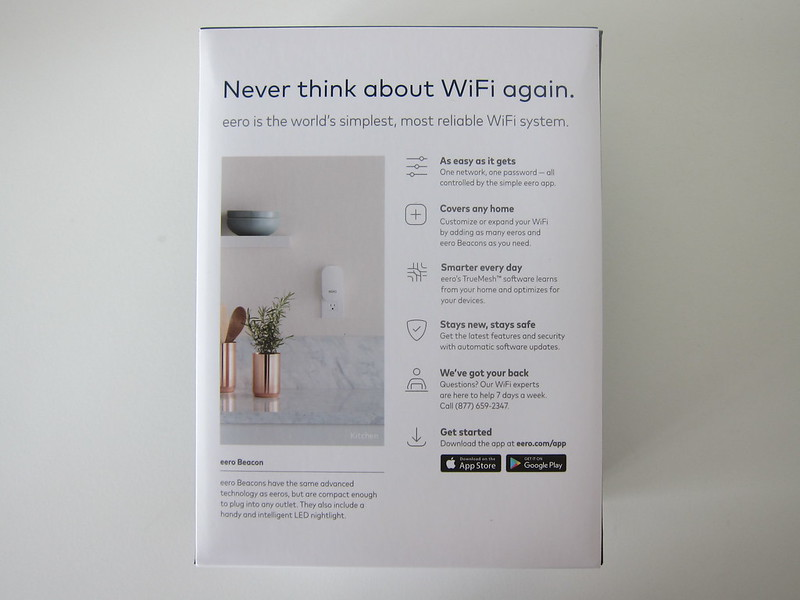 eero Beacon - Box Back