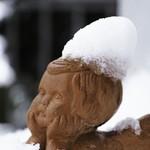 2018:01:18 16:14:45 - Engel mit Schneehaube