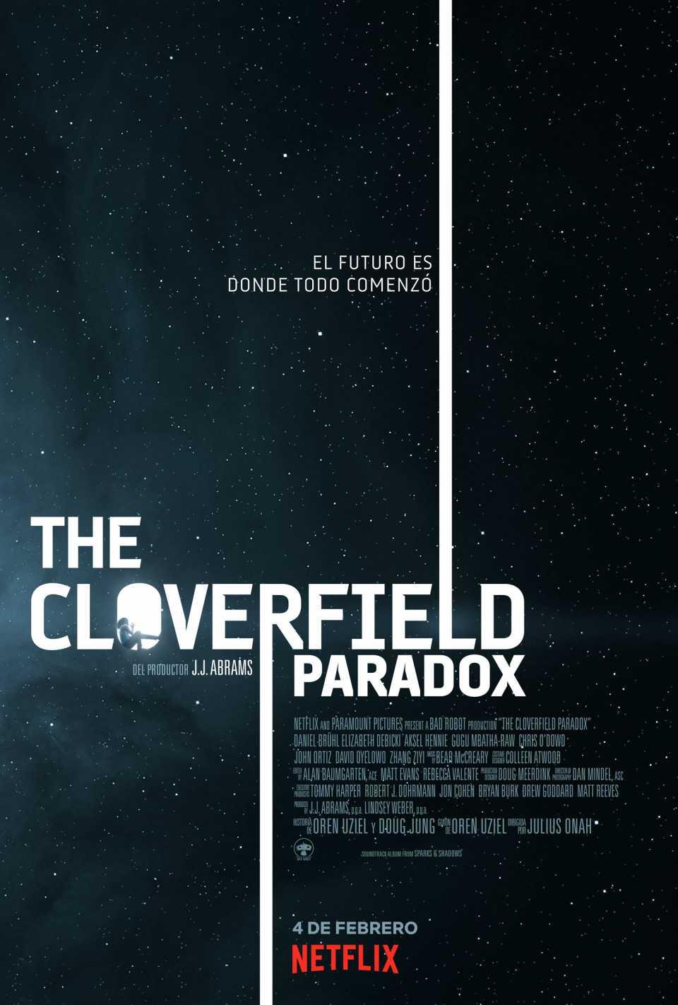 The Cloverfield Paradox ya disponible en Netflix