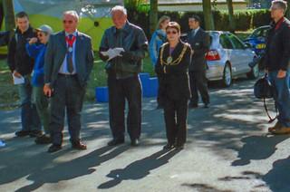 Bürgermeisterin von Brighton begrüßt die Läufer