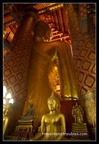 Omringd door Boeddha's