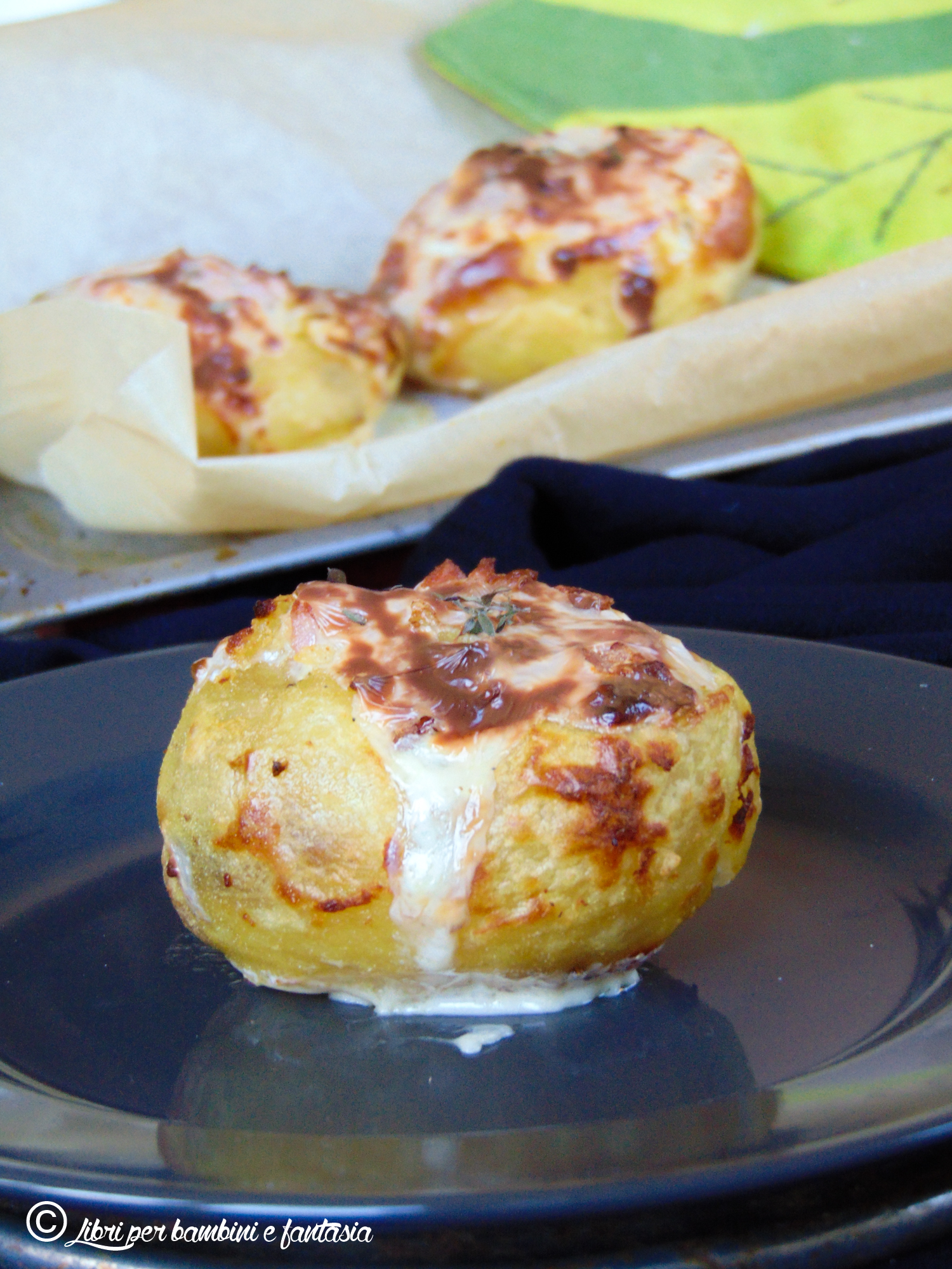 patate al forno e bis
