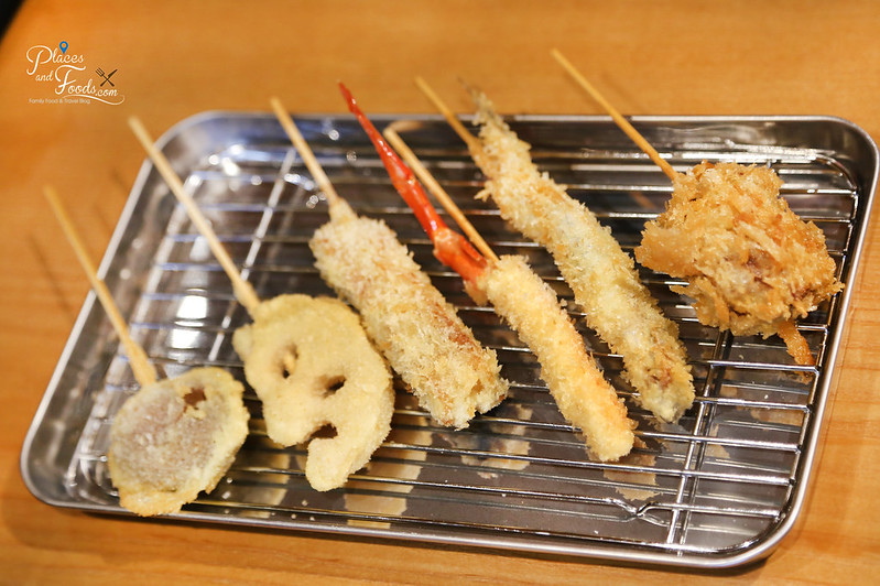 j's gate dining kushiage kinme tempura