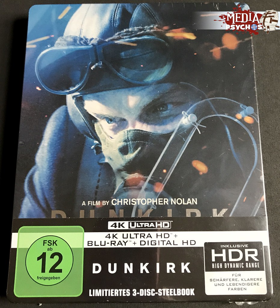 FullSizeRender Dunkrik - MediaMarkt / Saturn Steelbook - Front (Sealed) - Media Psychos