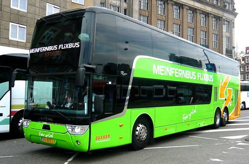 OO-BFZ-3 'Flixbus/Meinfernbus'. Van Hool TDX 27 Astromega' on 'Dennis Basford's railsroadsrunways.blogspot.co.uk'