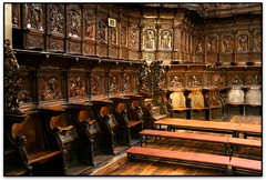 El cor, Catedral de Sto. Domingo de la Calzada (la Rioja, España)