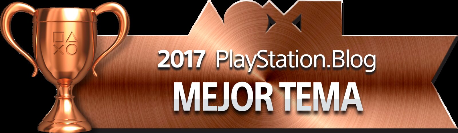 PlayStation Blog Game of the Year 2017 - Best PS4 Theme (Bronze)