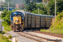 CSX 8064 | EMD SD40-2 | CN Fulton Subdivision