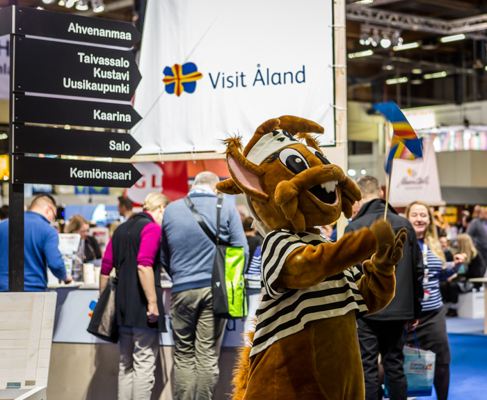 Matkamessut 2018 Finnish Travel Fair Ahvenanmaa Åland visitåland