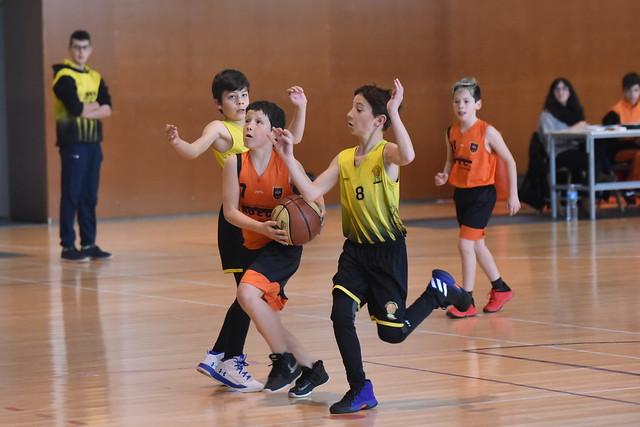 03.02.2018 premini mixt contra Club Escola Bàsquet Navarcles