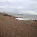 The beach at Eastbourne