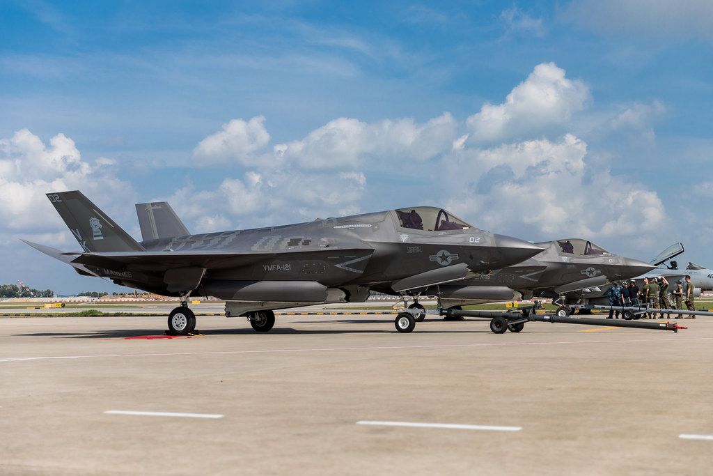 F-35Bs Arrive in Singapore