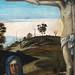 BELLINI Giovanni,1465-70 - Le Calvaire (Louvre) - Detail 09