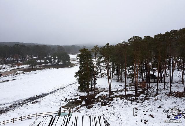 Necrópolis de Revenga y La Cerca con nieve 9