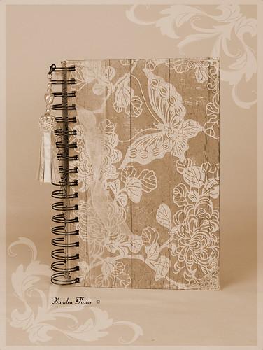 Vintage Themed Journal - Butterflies