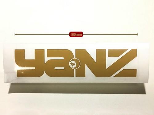 YANZ cutting sticker