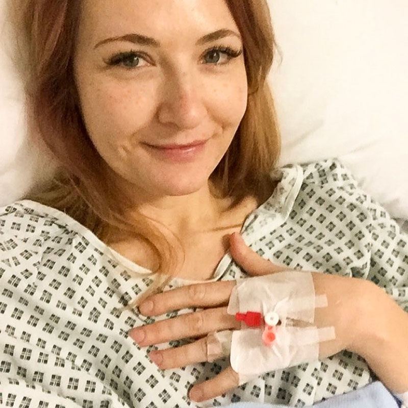 Post operation recovery | Not Dressed As Lamb