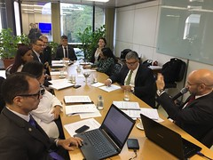 Comissão de Avaliação e Credenciamento do Pró-Gestão RPPS em primeira reunião realizada em Brasília.26.fev.2018. Foto: SPREV