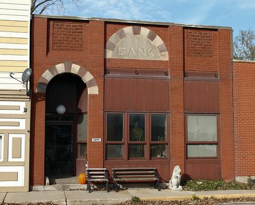 Gratiot State Bank Building - Gratiot, WI