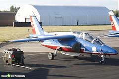 E135 9 F-TERX - E135 - Patrouille de France - French Air Force - Dassault-Dornier Alpha Jet E - RIAT 2010 Fairford - Steven Gray - IMG_7359