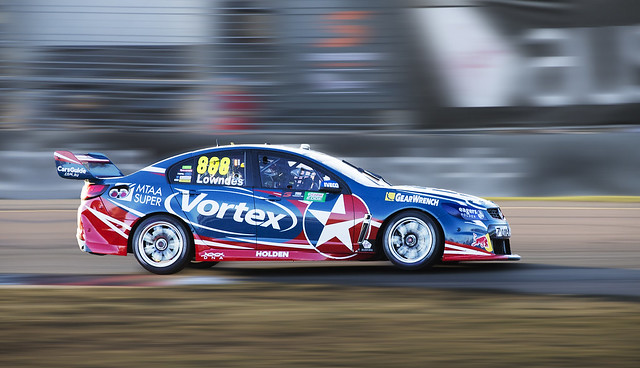 Craig Lowndes 888 Holden Commodore, at Townsville 400 2016