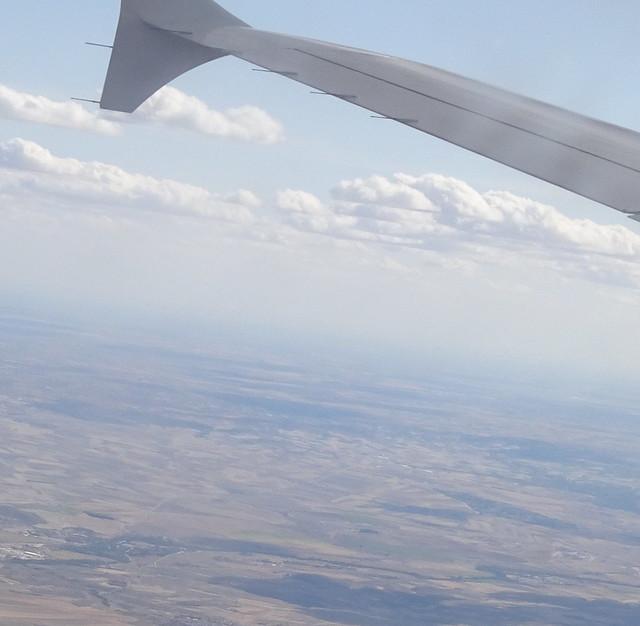 En un vuelo