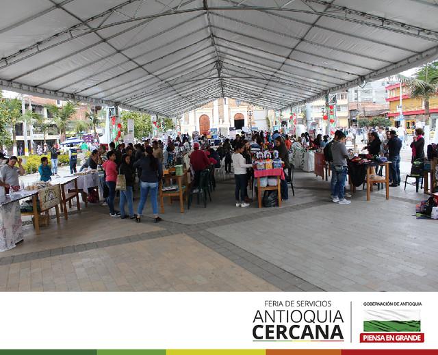 Feria de servicios Antioquia Cercana 2018 - Santa Rosa de Osos