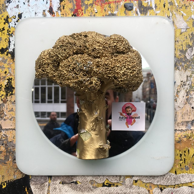 Gold Broccoli Man - Adrian Boswell