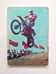 Календарик 1990 г. Страхование от несчастных случаев. Реклама. Цена 10 р.  #календари #календарики #карманные #мотоцикл #страхование #1990 #kalender #insurance #advertising
