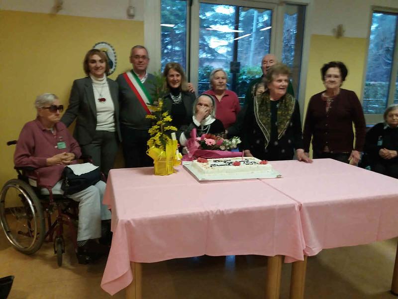 A Castel Bolognese Erminia Cornazzani ha compiuto 103 anni