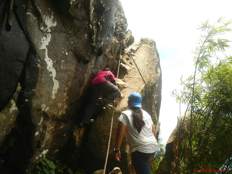 Rope assisted ascent