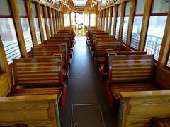 Tampa Bay (Hillsborough Area Regional Transit Authority) HART TECO Line Gomaco Replica Birney Trolley 436 Car