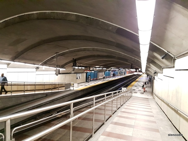 Plamondon subway station