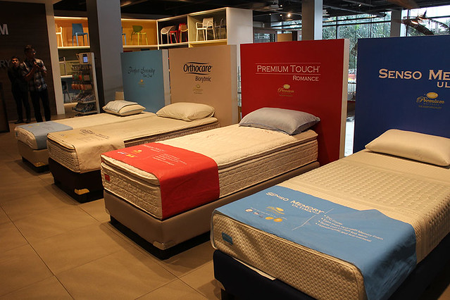 Uratex Duane Bacon Lifestyle Sleep Health New years resolution Bed Demo