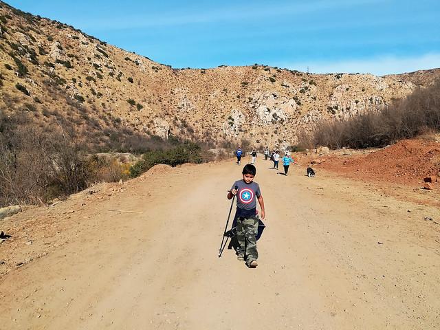 Hiking en Cañón del Cascabel, Tijuana B. C.